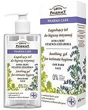 Voňavky, Parfémy, kozmetika Upokojujúci gél pre intímnu hygienu - Green Pharmacy Soothing Gel