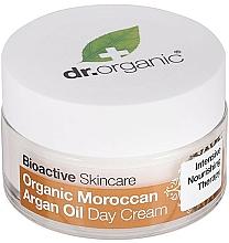 """Voňavky, Parfémy, kozmetika Denný krém na telo """"Marocký arganový olej"""" - Dr. Organic Bioactive Skincare Organic Moroccan Argan Oil Day Cream"""