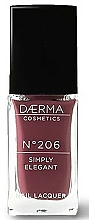 Voňavky, Parfémy, kozmetika Lak na nechty - Daerma Cosmetics Nail Lacquer