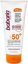 Voňavky, Parfémy, kozmetika Krém s SPF ochranou na tvár a krk - Babaria Face and Neck Sun Cream Spf 50