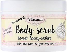 """Voňavky, Parfémy, kozmetika Peelingový telový peeling """"Sladké medové vafle"""" - Nacomi Body Scrub Sweet Honey Wafers"""