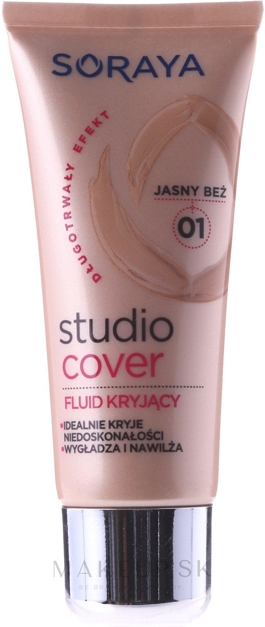 Tonálny krém - Soraya Podkłady Studio Cover Make-up Cover up — Obrázky 01