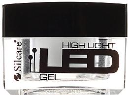 Voňavky, Parfémy, kozmetika Gél na nechty, biely - Silcare High Light LED White
