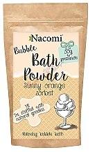 """Voňavky, Parfémy, kozmetika Púder pre kúpeľ """"Pomarančový sorbet"""" - Nacomi Sunny Orange Sorbet Bath Powder"""