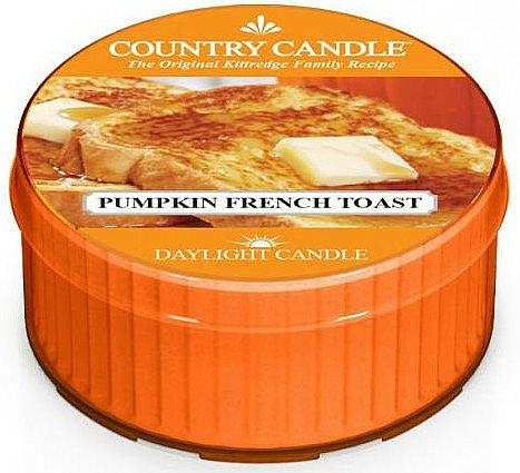 """Čajová sviečka """"Francúzsky toast s tekvicou"""" - Country Candle Pumpkin French Toast Daylight — Obrázky N1"""