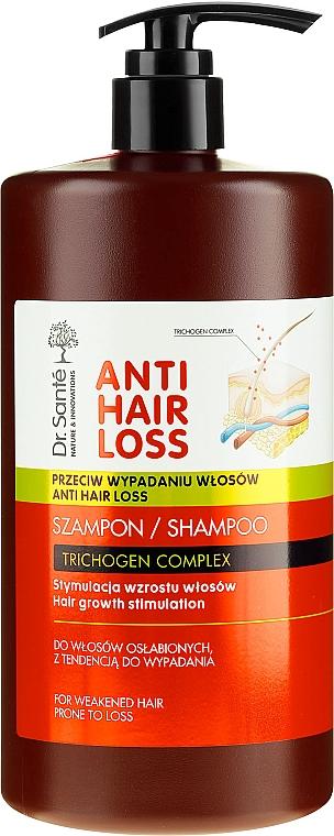 Šampón pre slabé a náchylné k vypadávaniu vlasy s davkavačom - Dr. Sante Anti Hair Loss Shampoo