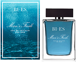 Voňavky, Parfémy, kozmetika Bi-es Man's Frash Eau De Toilette - Toaletná voda