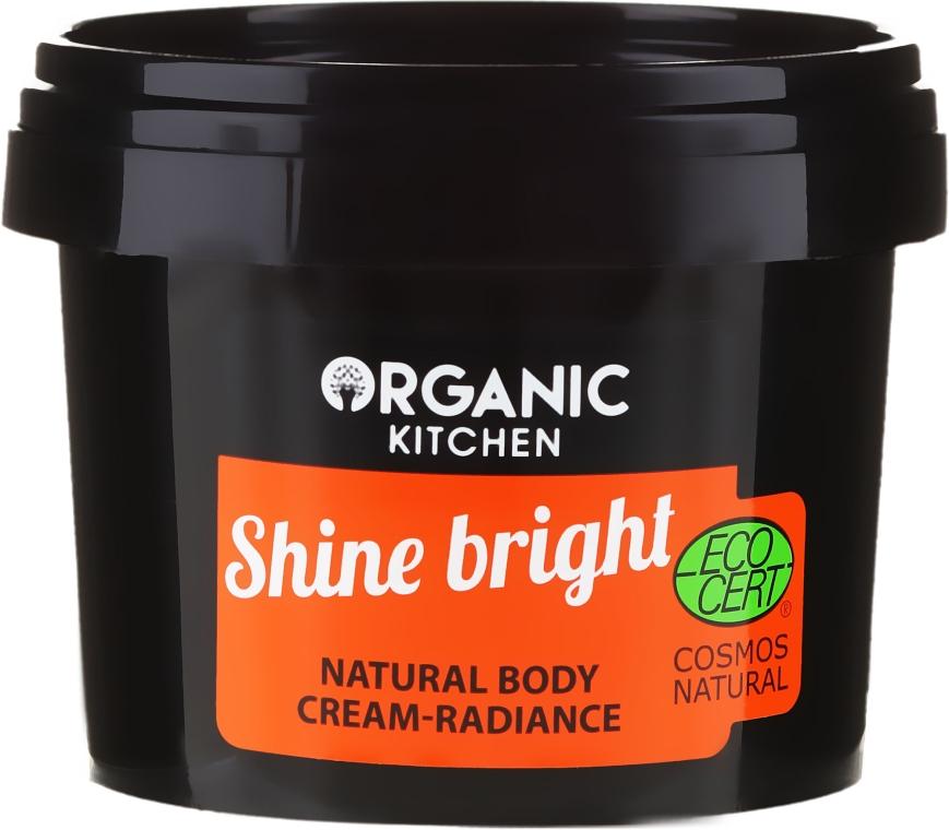 """Prírodný telový krém """"Žiarenie"""" - Organic Shop Organic Kitchen Cream"""