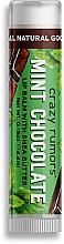 Voňavky, Parfémy, kozmetika Balzam na pery - Crazy Rumors Mint Chocolate Lip Balm