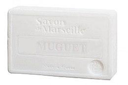 """Voňavky, Parfémy, kozmetika Prírodné mydlo """"Konvalinka"""" - Le Chatelard 1802 Muguet Soap"""