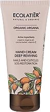 Voňavky, Parfémy, kozmetika Výživný krém na ruky - Ecolatier Organic Argana Deep Reviving Hand Cream