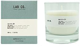 Voňavky, Parfémy, kozmetika Vonná sviečka - Ambientair Lab Co. Myrtle