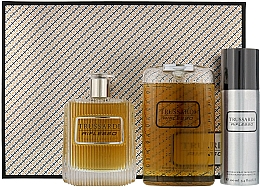 Voňavky, Parfémy, kozmetika Trussardi Riflesso Man Set - Sada (edt/100ml + sh/g/200ml + deo/100)
