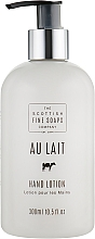Voňavky, Parfémy, kozmetika Mlieko na ruky - Scottish Fine Soaps Au Lait Hand Lotion