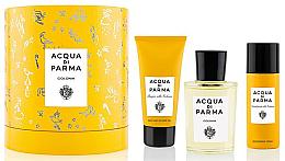 Voňavky, Parfémy, kozmetika Acqua Di Parma Colonia - Sada (edc/100ml + sh/gel/75ml + deo/50ml)