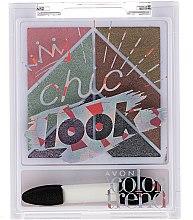 Voňavky, Parfémy, kozmetika Paleta očných tieňov - Avon Color Trend Chic Look Eyeshadow Palette