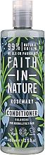 Voňavky, Parfémy, kozmetika Kondicionér na vlasy s rozmarínom - Faith in Nature Rosemary Conditioner