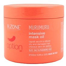 Voňavky, Parfémy, kozmetika Maska na suché a poškodené vlasy - H.Zone Option Murumuru Intensivr Mask Oil