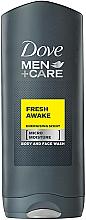 """Voňavky, Parfémy, kozmetika Sprchový gél """"Prebudenie sviežosti"""" - Dove Fresh Awake Shower Gel"""