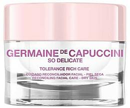 Voňavky, Parfémy, kozmetika Krém uspokojujúci pre suchú pokožku - Germaine de Capuccini So Delicate Tolerance Rich Care