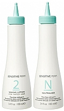 Voňavky, Parfémy, kozmetika Sada - No Inhibition Sensitive Perm 2 (lot/100ml + neutralizer/100ml)