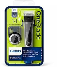 Voňavky, Parfémy, kozmetika Zastrihávač, holiaci strojček na tvarovanie brady a fúzov - Philips OneBlade Pro QP6520/20