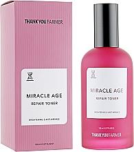 Voňavky, Parfémy, kozmetika Regeneračné tonikum proti vráskam proti starnutiu - Thank You Farmer Miracle Age Tooner