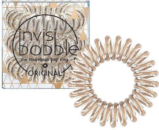 Gumička do vlasov - Invisibobble Original Bronze Me Pretty