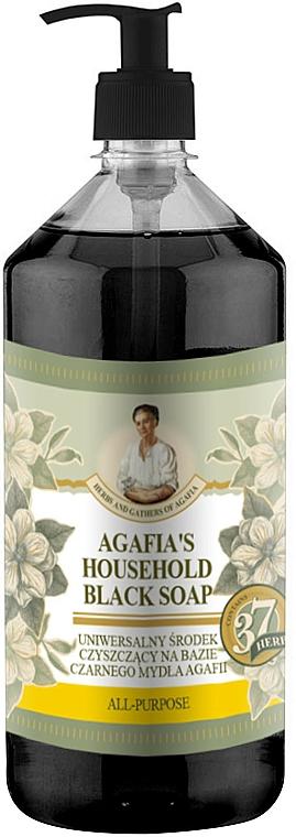 Čierne mydlo na prádlo - Recepty babičky Agafy Byliny a poplatky