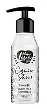 """Voňavky, Parfémy, kozmetika Trblietavé mlieko na telo """"Kokos"""" - MonoLove Bio Shimmer Body Milk Coconut Cosmic Shine"""
