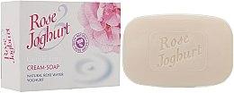 Voňavky, Parfémy, kozmetika Krém-mydlo - Bulgarian Rose Joghurt Soap