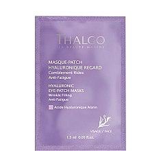 Voňavky, Parfémy, kozmetika Hyalurónová náplasť pod očí - Thalgo Hyaluronic Eye-Patch Masks
