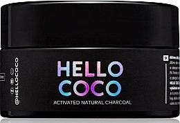 Voňavky, Parfémy, kozmetika Uhoľný beliaci prášok na zuby - Hello Coco Sweet Mint Activated Natural Charcoal Teeth Whitener