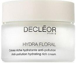 Voňavky, Parfémy, kozmetika Krém na tvár - Decleor Hydra Floral Anti-Pollution Hydrating Rich Cream