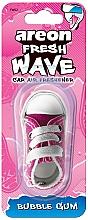 Voňavky, Parfémy, kozmetika Osviežovač vzduchu do auta - Areon Fresh Wave Bubble Gum
