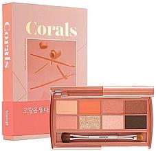 Voňavky, Parfémy, kozmetika Paleta očných tieňov - Heimish Dailism Eye Palette Coral Essay