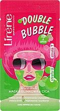 Voňavky, Parfémy, kozmetika Hlinená-bublinková maska - Lirene Double Bubble Cica Mask