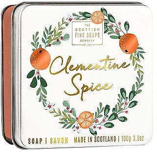 Vianočné mydlo Klementínka - Scottish Fine Soaps Clementine Spice Soap