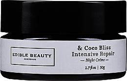 Voňavky, Parfémy, kozmetika Krém na tvár - Edible Beauty Coco Bliss Intensive Repair Night Creme
