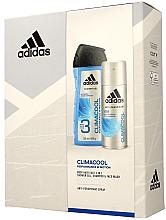 Voňavky, Parfémy, kozmetika Sada - Adidas Climacool Men (deo/150ml +sh/gel/250ml)