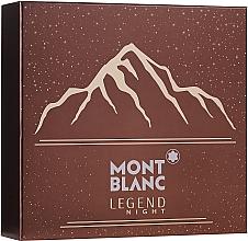 Voňavky, Parfémy, kozmetika Montblanc Legend Might - Sada (edp/100ml + ash/balm/100ml + sh/gel/100ml)