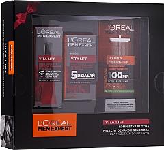 Voňavky, Parfémy, kozmetika Sada - L'Oreal Paris Men Expert (sh/gel/300ml + cr/50ml + eye/cr/15ml)
