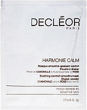 Voňavky, Parfémy, kozmetika Maska na tvár - Decleor Harmonie Calm Soothing Comfort Smoothie Mask Shaker Powder