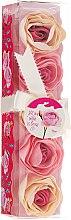 """Voňavky, Parfémy, kozmetika Konfety do kúpeľa """"Ruža"""", 5 ks - Spa Moments Bath Confetti Rose"""