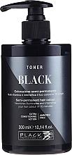 Voňavky, Parfémy, kozmetika Farbiaci toner na vlasy - Black Professional Line Semi-Permanent Coloring Toner (Yellow Stop)