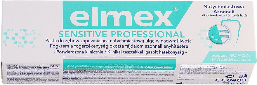 Zubná pasta - Elmex Professional Sensitive Toothpaste