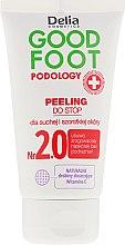 Voňavky, Parfémy, kozmetika Peeling na nohy - Delia Cosmetics Good Foot Podology Nr 2.0