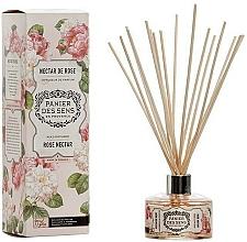 Voňavky, Parfémy, kozmetika Aromatický difúzor Ružový nektár - Panier Des Sens Rose Nectar Reed Diffuser