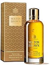 Voňavky, Parfémy, kozmetika Molton Brown Mesmerising Oudh Accord & Gold Precious Body Oil - Olej na telo