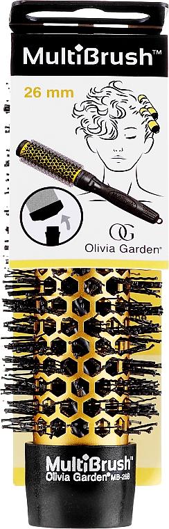 Kefa d 26 mm (bez rukoväte) - Olivia Garden MultiBrush Barrel — Obrázky N1